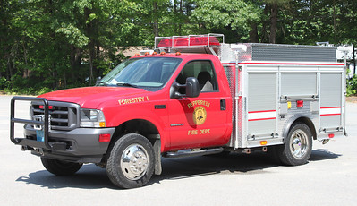 Forestry 1 2002 Ford F-550 / Fire Resources 450 / 500