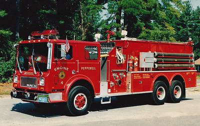 Retired  Engine 4 1979 Mack MC / Continental 1500 / 2500