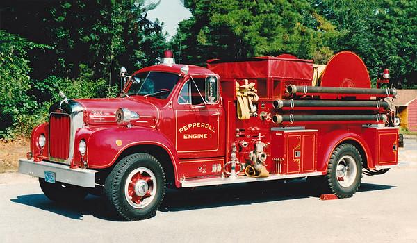 Retired Engine 1.  1957 Mack B   1000 / 200 / 2500' LDH