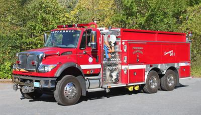 Tanker 1.  2007 International / E-One.  1750 / 2500