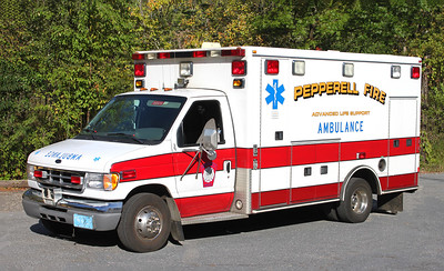 Retired Ambulance 1   2000 Ford / Road Rescue