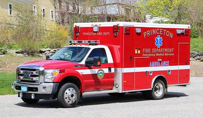 Ambulance 1.  2015 Ford F-450 / PL Custom