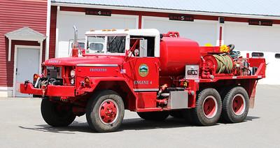 Engine 4.  1974 Am General.  350 / 600 / 40F