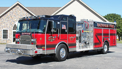 Engine 3 2013 E-One Cyclone 2000/1000/20F