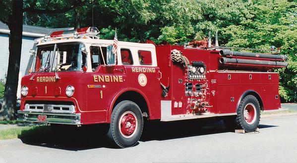 Retired Engine 1.  1973 Ford / Maxim   1000 / 500