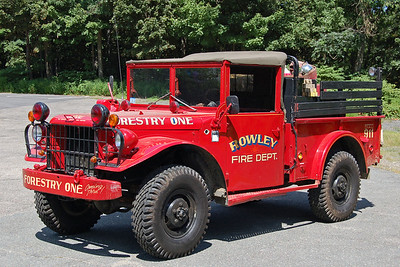 Forestry 1 1953 Jeep 125 / 200