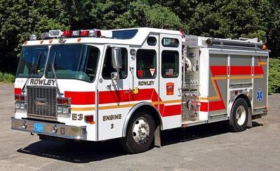 Engine 3 2002 E-One Cyclone 1500 / 780