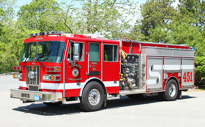 Retired.  Engine 451   2007 Sutphen   1500 / 750 / 50F