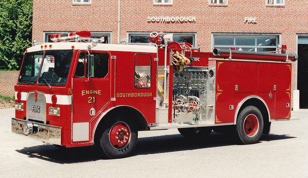 Retired Engine 21.  1984 Kenworth / FMC.  1250 / 750