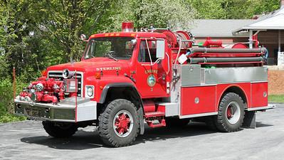 Engine 3 1987 International / Boyer 1000 / 500