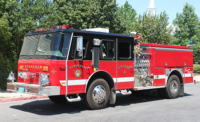 Retired   Engine 4.  1989 E-One Cyclone.  1000 / 500
