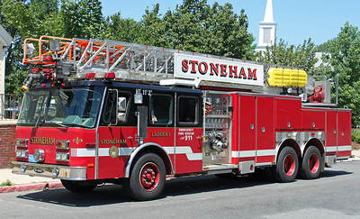 Retired   Ladder 1.  1995 E-One Hurricane.   1250 / 450 / 100' RM