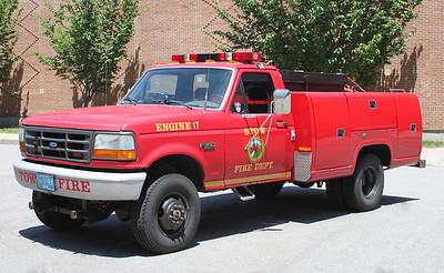 Engine 17 1997 Ford F-350 300/300