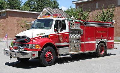 Engine 14 2001 Sterling/E-One 1250/1000