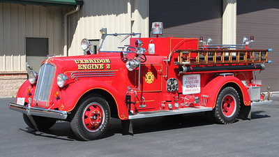 Retired E-2.  1940 Seagrave.  500 / 500 (Different Beacon Light)