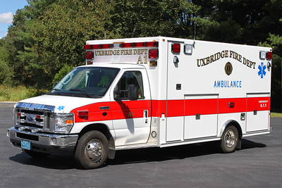 Retired Ambulance 1.  2010 Ford E-450 / Osage