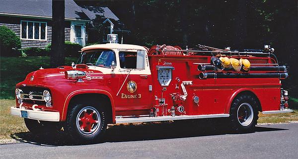 Retired Engine 3.  1956 Ford / Farrar.  500 / 500