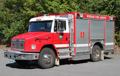 Rescue 410.  1997 Freightliner / Central States    200 Gallon tank