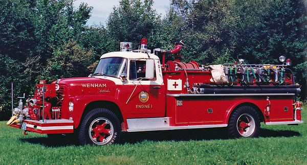 Retired   Engine 1  1965 International / Farrar  750 / 500