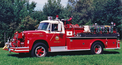 Retired   Engine 1  1965 International / Farrar  750 / 500