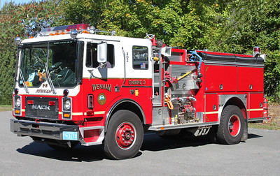 Retired Engine 3.  1989 Mack MC / E-One   1250 / 500