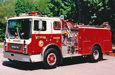 Retired  Engine 2 (402) Truck I was Lt. on 1981 Mack MC 1250 / 500