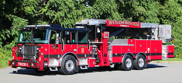 Truck 1.  2019 Seagrave Marauder.  95' Scope