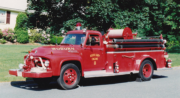 Retired Aux Engine 8.  1953 Ford F-500   500 / 500