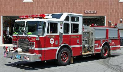 Engine 12  1999 KME  1500/500