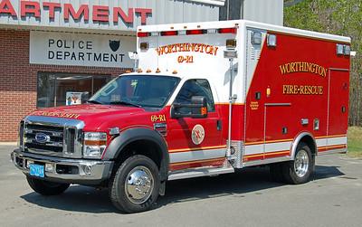 Rescue 1  2008 Ford/AEV