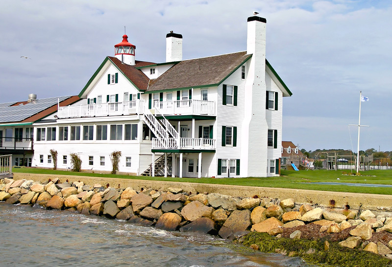 The Bass River, separating West Dennis and Yarmouth, provided a harbor for seine fishermen and coastal trade in the 1800's.  The river emptied into Nantucket Sound, a busy waterway, and local sea captains wanted a navigational aid to assist them in finding the harbor.