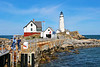 In order to keep Boston Light 'manned' they appointed Sally Snowman, a noted historian on Boston Light, to serve as the civilian keeper of Boston Light.