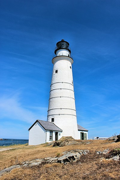 The lighthouse, along with all of the colonial lighthouses, was ceded to the Federal government in 1790.