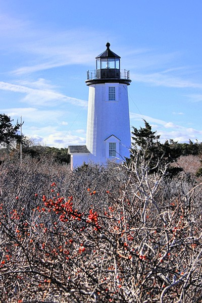 In 1997 the lighthouse received some much-needed TLC when the lantern was removed by helicopter to the mainland, where it was sandblasted, re-painted and windows were replaced.  After two months, the lantern was returned to the tower