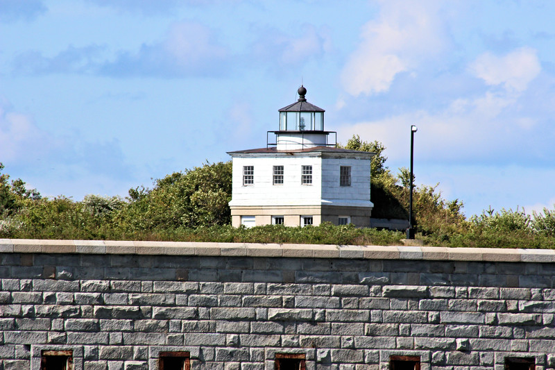 During the 1850's it was rumored that the Clark's Point Lighthouse served as a stop along the Underground Railroad helping slaves reach freedom.  A 5th Order Fresnel lens was installed in the lantern in 1856.