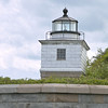 After World War II the property at Clark's Point was declared surplus property.  It was eventually turned over to the City of New Bedford in 1970.  The lighthouse atop the fort suffered from years of neglect and vandalism.