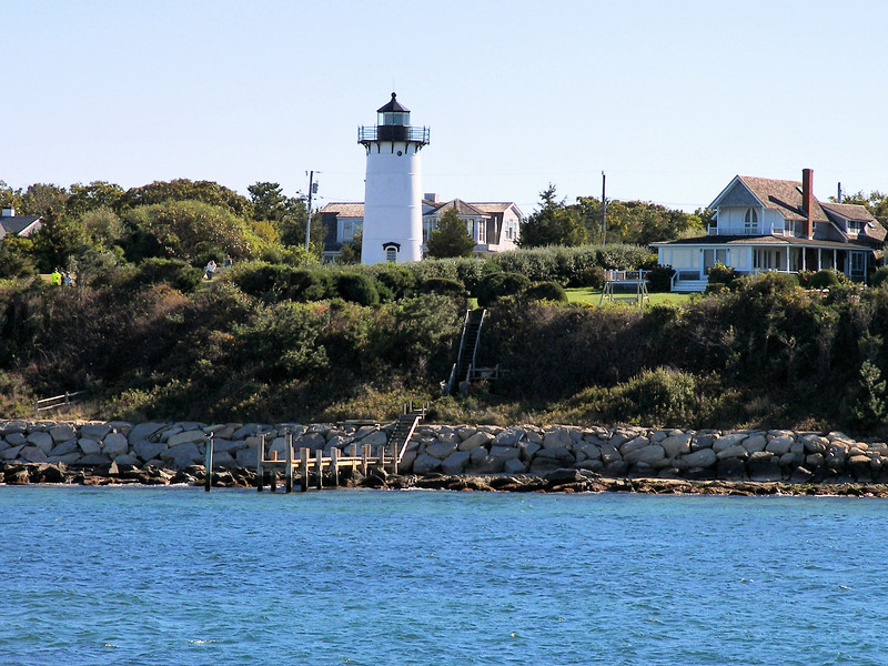 Daggett's light served until December 1871 when it burnt down in a fire.  It was rebuilt and relit in May 1872.  By this time the Lighthouse Establishment began to realize the importance of the light and loaned Daggett 21 inch reflectors to use in his lantern.