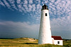 In the 1950's the Great Point Lighthouse was automated and its personnel removed. The keepers residence was boarded up and left to the elements.