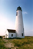 When the CG proposed erecting a skeleton tower in its place, Nantucket islanders enlisted the help of Senator Edward Kennedy. Kennedy secured $2 million in funding to rebuild the lighthouse.