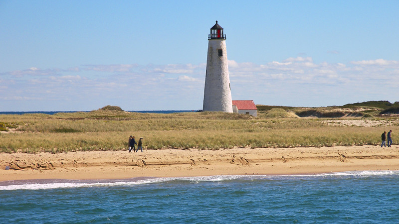 Even with the improved lighting apparatus, shipwrecks continued as the Great Point Light was confused with the Pollack Rip and Handkerchief Lightships. A red sector was added to the Great Point Light to address this issue.