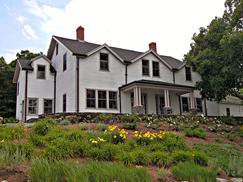 The restored Keepers House which was built in 1858 is found on Government Island. It now hosts community events in Cohasset. It is maintained by the Cohasset Lightkeepers Corporation.