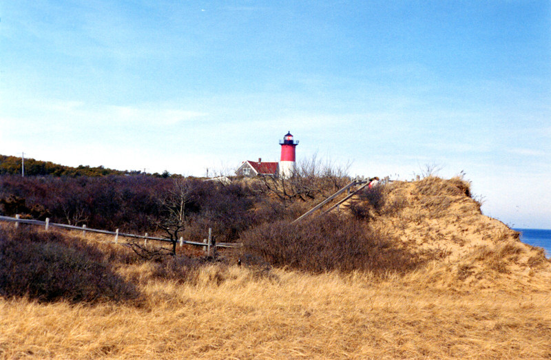The private owner of the 1875 Keepers House negotiated with the National Park Service and reached an agreement to have the structure moved next to the tower in 1998.  Ownership of the lighthouse was transferred to National Park Service and the NLPS signed an agreement to maintain the light as a private aid.  The Nauset Light is now accessible in a public park and the NLPS offers tours of the tower from spring to fall.  See www.nausetlight.org for additional information on the Nauset Light.