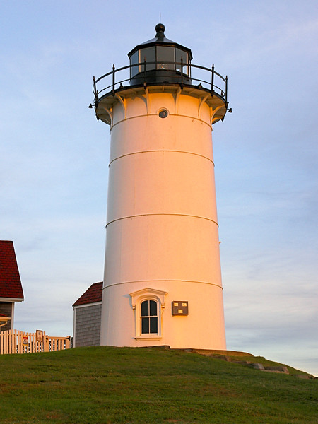 In November 1838 Lt. Edward Carpender reported on the condition of the Nobska Point Light finding it to be well kept.