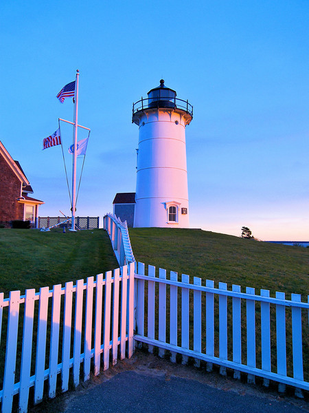 In February 2014 the Coast Guard announced their intention to excess the lighthouse property under the National Historic Lighthouse Preservation Act of 2000.  The Town of Falmouth was awarded ownership in April 2016.  The town works with a group called the Friends of Nobska Light to preserve the tower, the lighthouse keeper's house and the grounds.  The light continues to shine from its 4th Order lens lighting the way across Vineyard Sound.