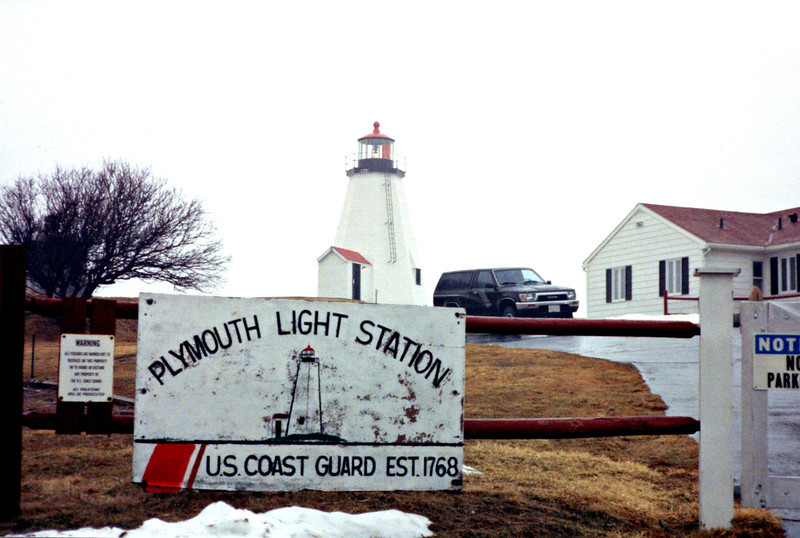 In 1963 the dilapidated 1843 keeper's house was torn down and a new ranch style house was built for the Coast Guard personnel assigned to the station.  In March 1977 the Plymouth Light Station was added to the National Register of Historic Places.
