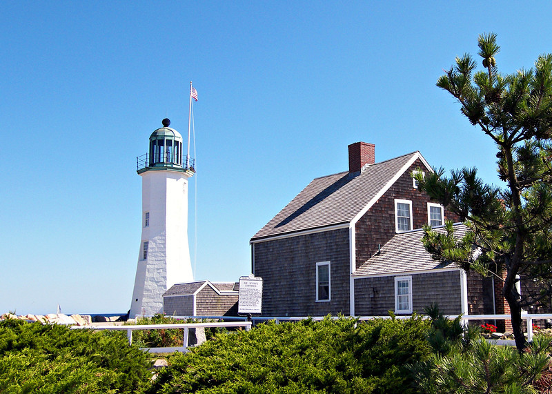 Over the years the tower and keepers residence fell into disrepair.  Upon learning that the government was planning on auctioning the property in 1916 the town raised $4,000 to purchase and preserve it.  In 1930 a replica lantern was installed atop the tower, but the station continued to deteriorate.