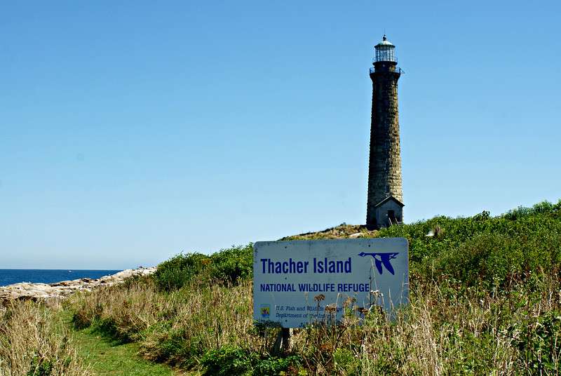 The lamps of the Thacher Island Twin Lights were first lit on the colonial holiday Forefathers Day, on December 21, 1771. Forefathers Day honored the Pilgrims who had founded the Massachusetts colony.