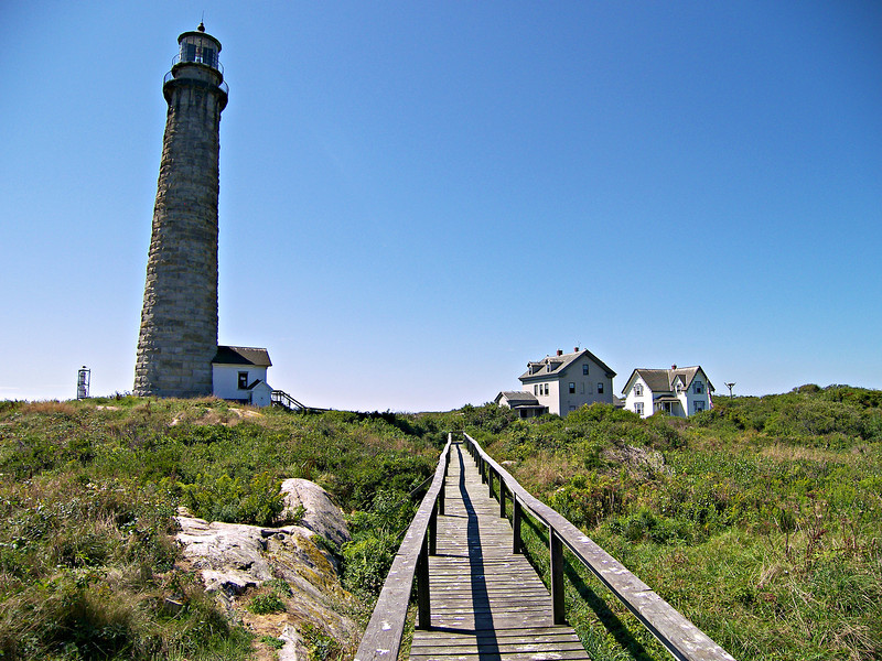 A report prepared by the Light House Board in 1857 recommended the replacement of the old 45 foot towers.  Fresnel lenses had been placed in almost all U.S. towers during the 1850's.  They reasoned that it would be the perfect opportunity to build taller towers on Thacher Island which could house 1st Order Fresnel lenses.  Congress agreed and appropriated $81,417.60 towards the project in 1859.