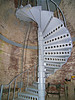 **South Tower stairway** The oil lamps of the new Thacher Island Twin Lights were first lit on October 1, 1861.