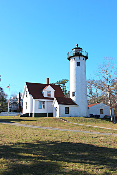 In 1976 the West Chop Lighthouse was the last to be automated on Martha's Vineyard.  The 4th Order Fresnel lens remains in situ in the lantern of the 1891 tower.